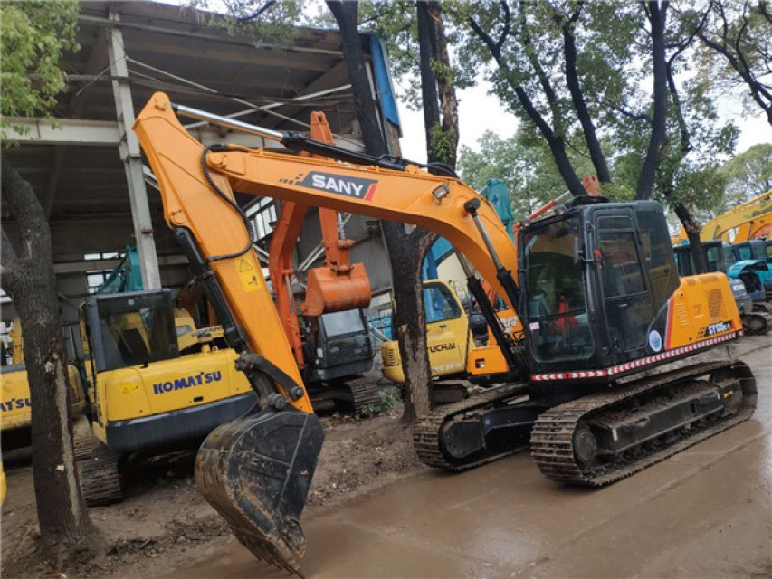 Chinese made superior performance Sy135 used excavator digger machine