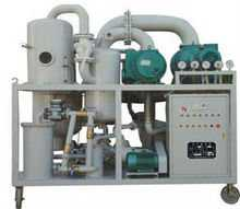 Series ZYD Double Stage Vacuum Insulating Oi Regeneration Purifier