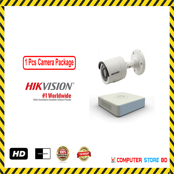 Hikvision 1 Camera with DVR