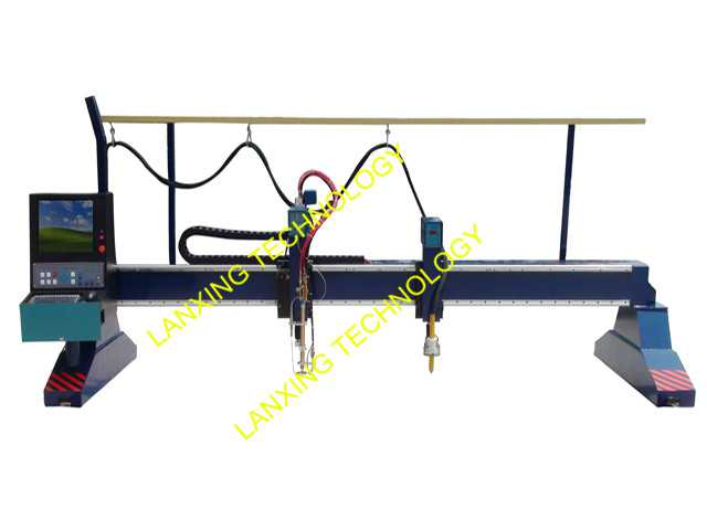 gantry cnc profile flame/plasma cutting machine