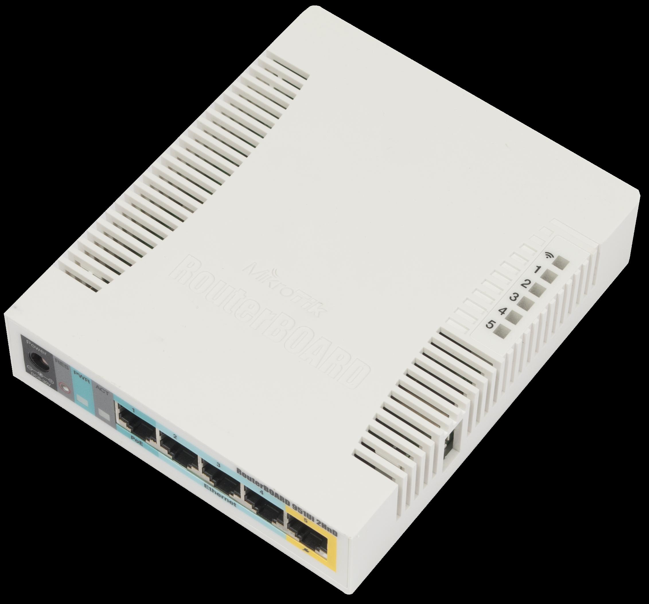 Mikrotik Router RB951Ui 2HnD