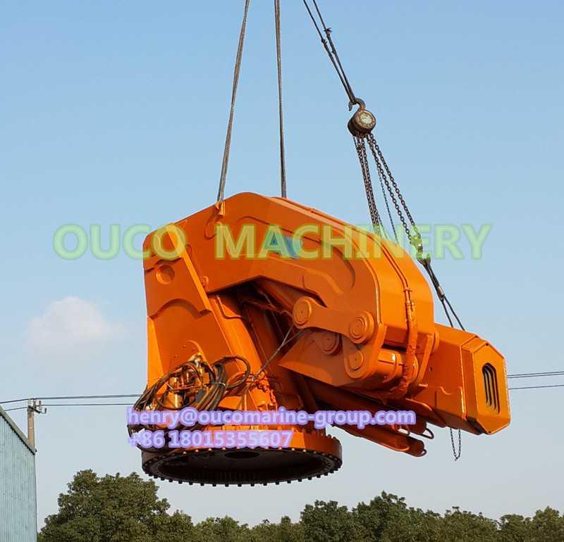 OUCO Hydraulic Provision Crane Folding Crane Marine Crane Pedestal Crane