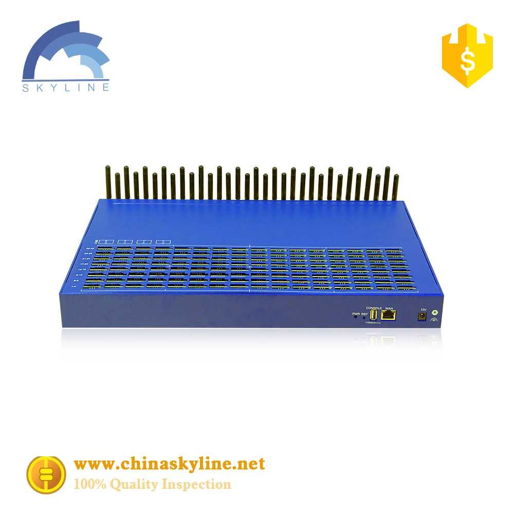 SK 32-256 ports VOIP gsm gateway