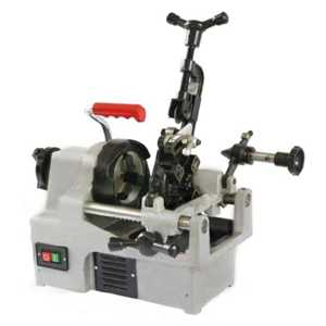 Electric pipe cutting threading machine for small pipe