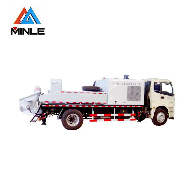 Truck mounted line pump