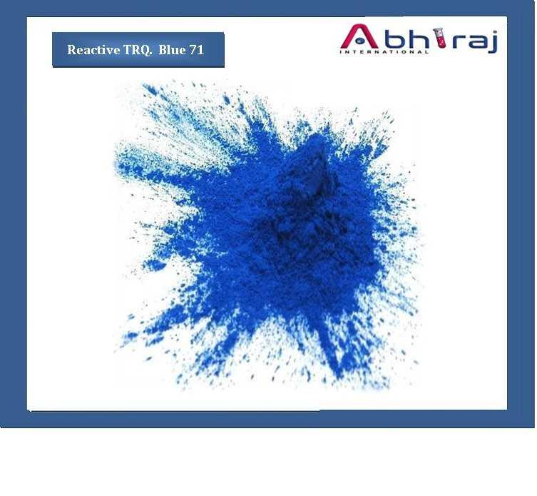 Reactive Trq  Blue 71 Information : Manufacturer | Supplier