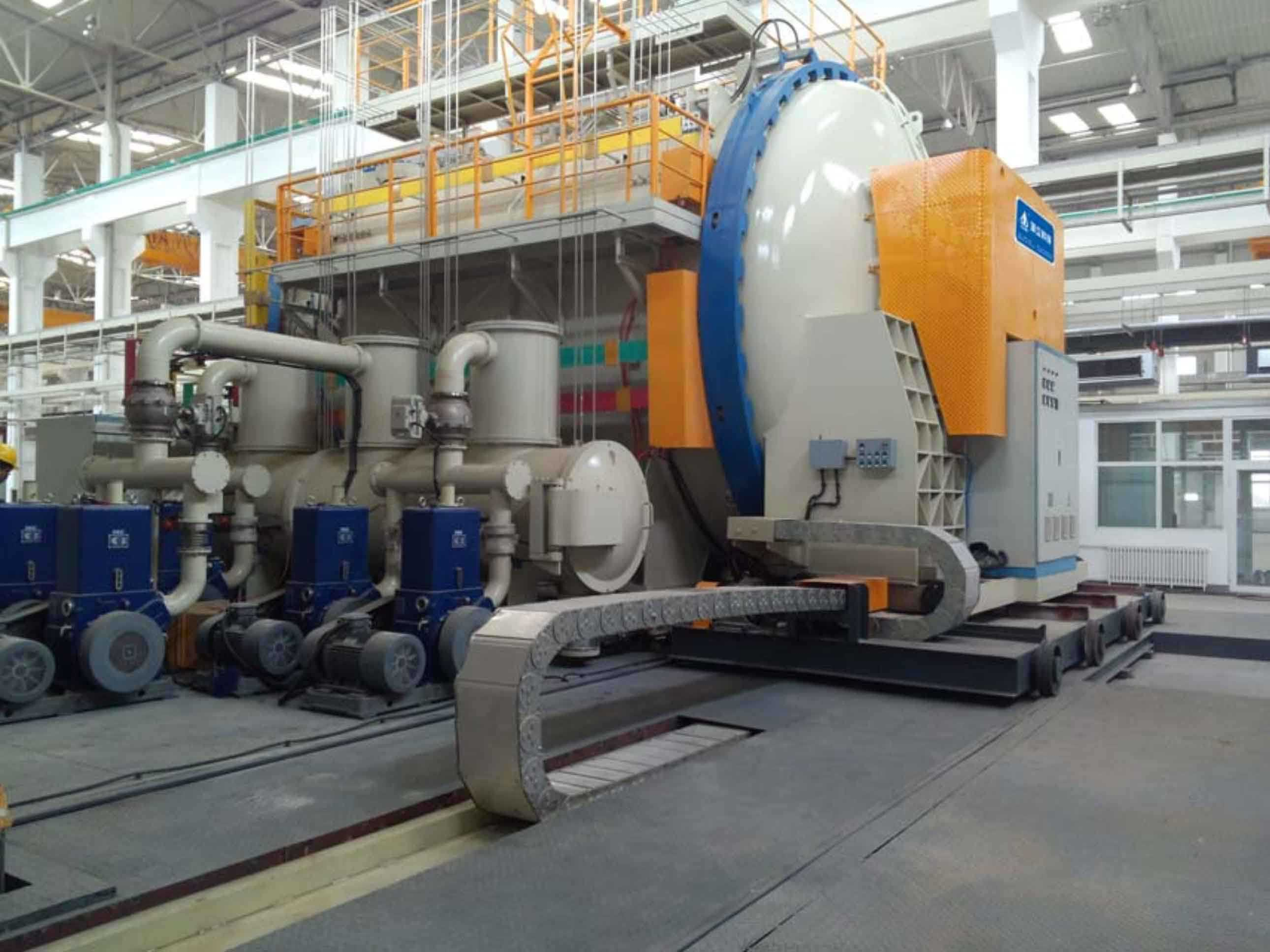 Horizontal Vacuum Carbonization Furnace