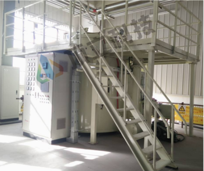 ACME Vertical Vacuum Carbonization Furnace
