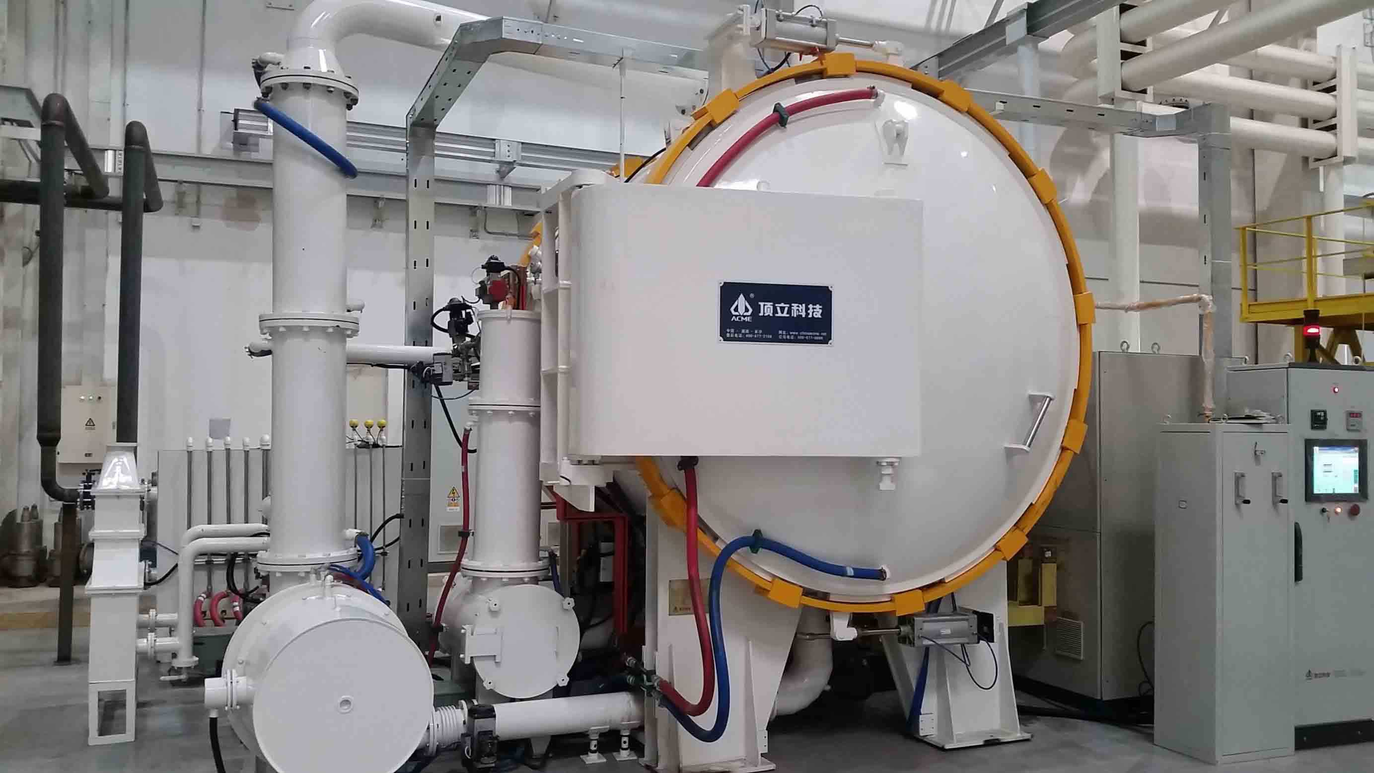 ACME Horizontal Vacuum Pyrolysis Furnace