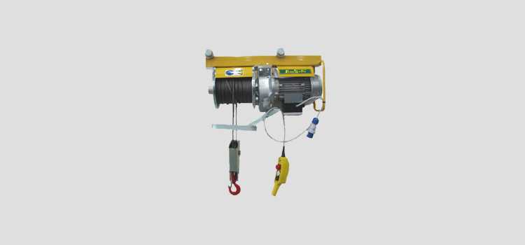 Lifting hoists - ELECTRIC, DIESEL, PETROL