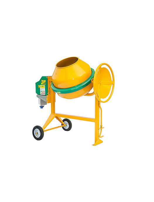 TRADITIONAL CONCRETE MIXERS