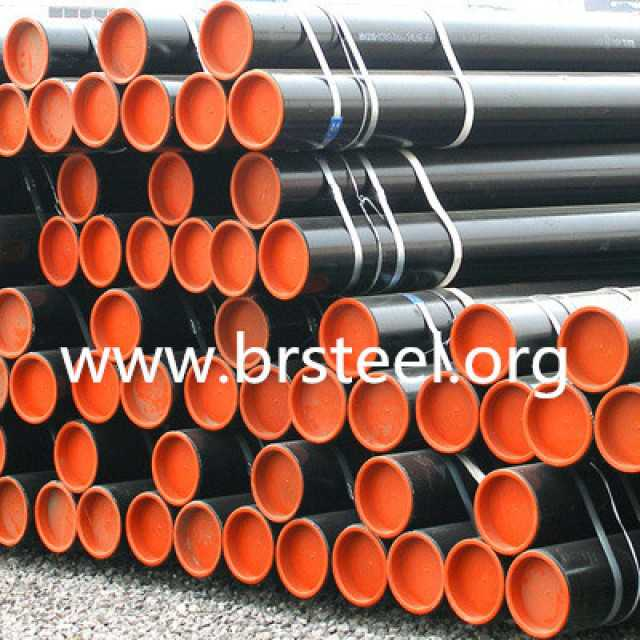Seamless carbon steel pipes API5L hot holled use for oil and gas