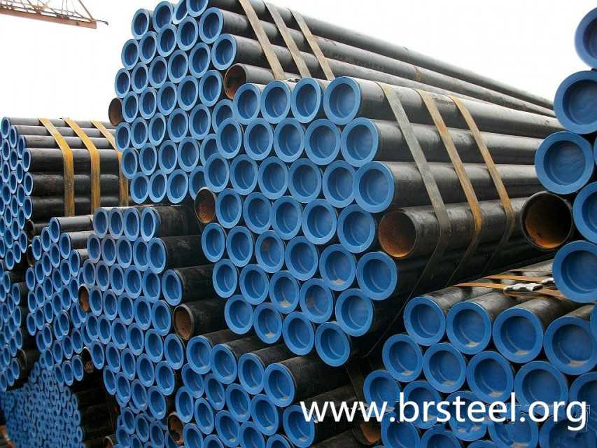 Seamless stainless Steel pipe cold drawn A106 steel line pipes