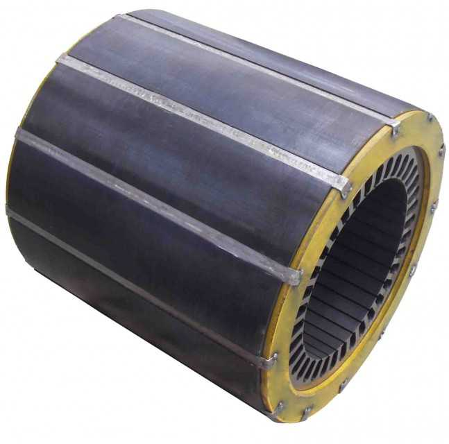 CE Standard Stator and Rotor Core for Wind Generator