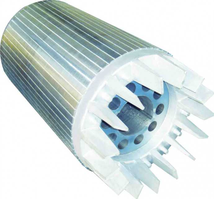 High Efficiency AC Motor Laminated Iron Core