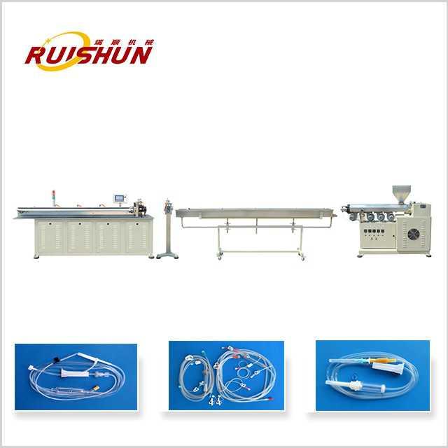 Medical catheter production machine