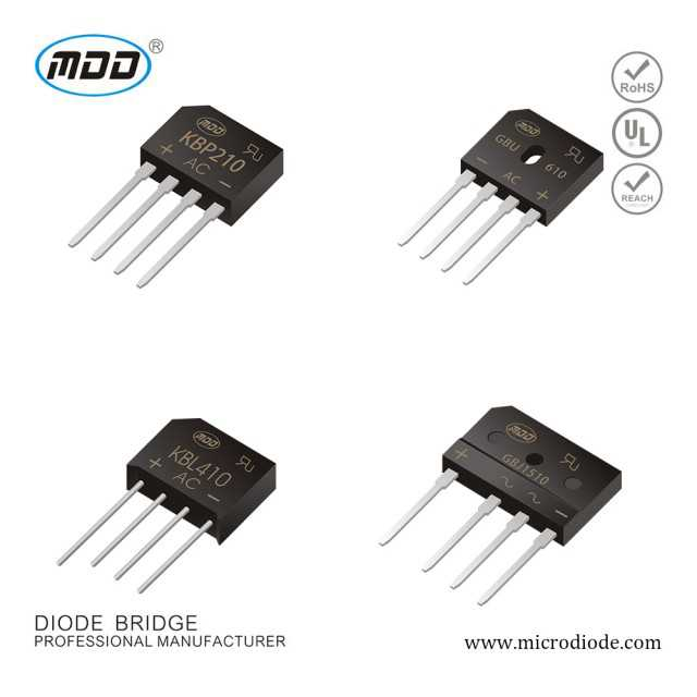 Quality Products Diode KBP-K Bridge Rectifier Pile