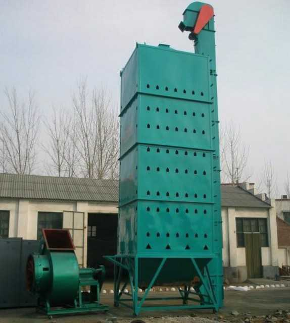 Grain dryer for drying wheat corn rice and so on