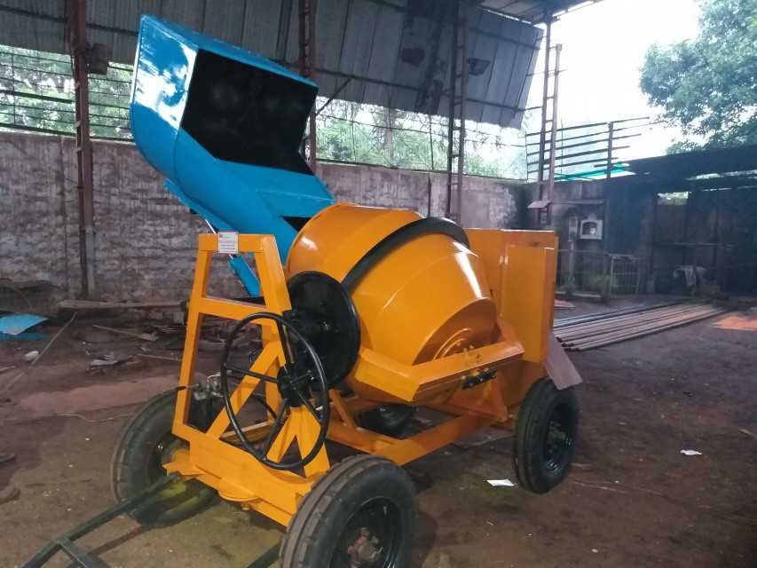 HYDRULIC CONCRETE MIXTURE MACHINE
