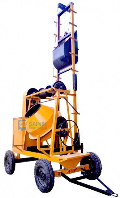 Concrete Mixture Machine WITH LIFT
