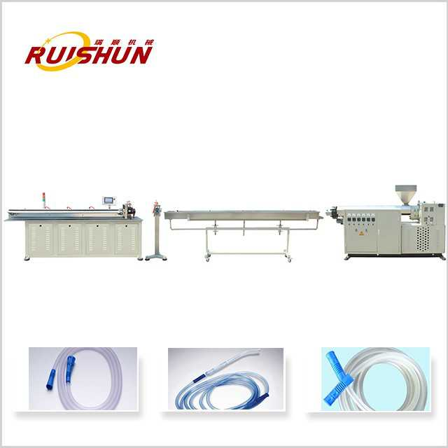 Yankee tube extrusion line