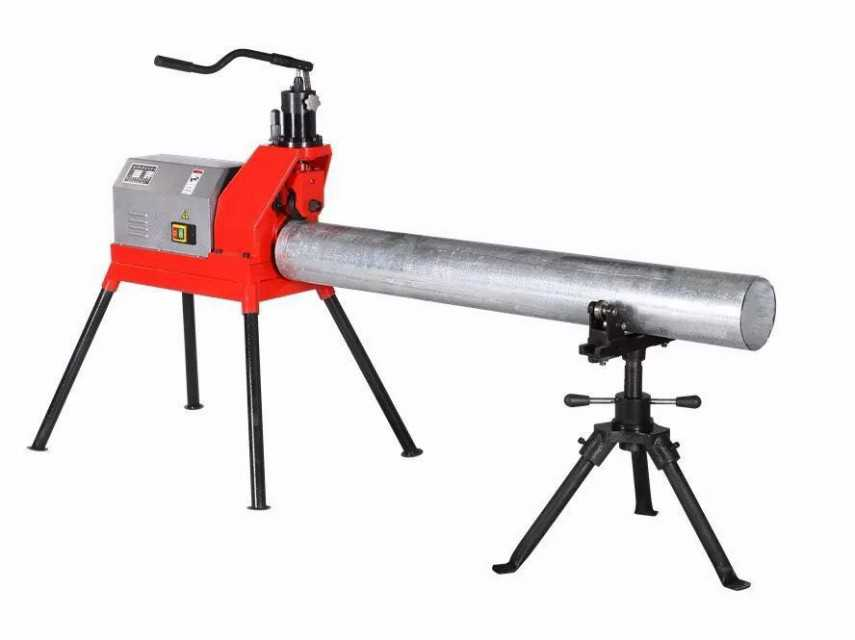 Electric hydraulic roll groover