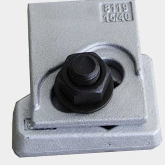 Railway Rail Clamp for Crane Rail Fastening
