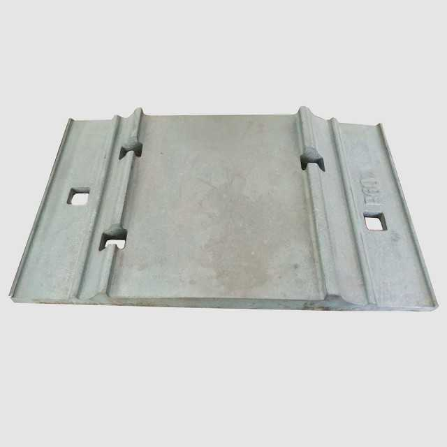 Railway Baseplate Rail Tie Plate for Supporting Rails