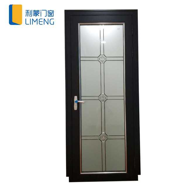 Indoor Aluminum hinged door for bathroom/Kitchen