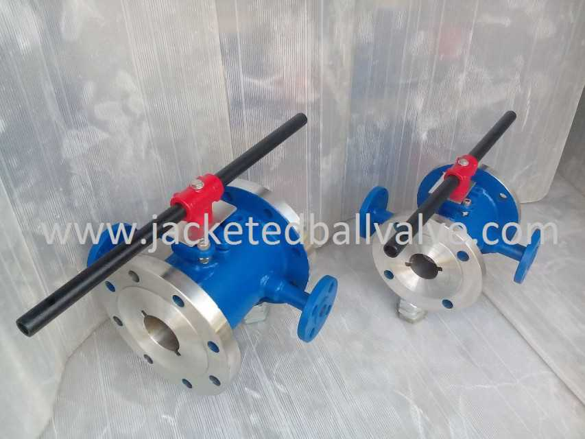 Sulfur Jacketed Ball Valve