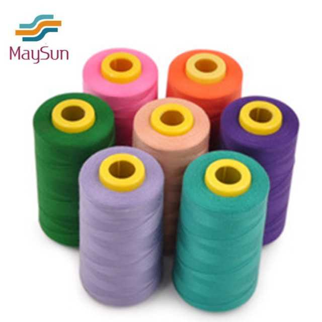Chinese largest sewing thread supplier concentrate on polyester sewing yarn