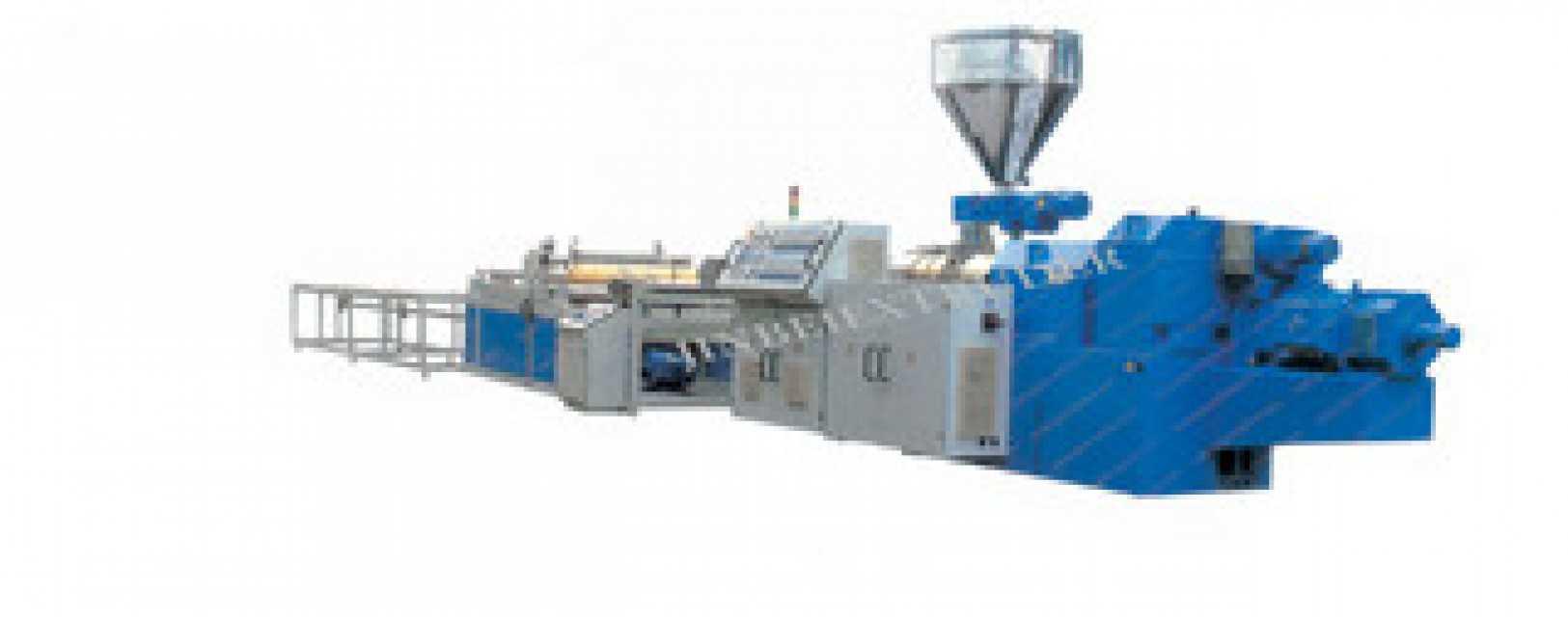 Plastic PVC Wavy Board Production Line