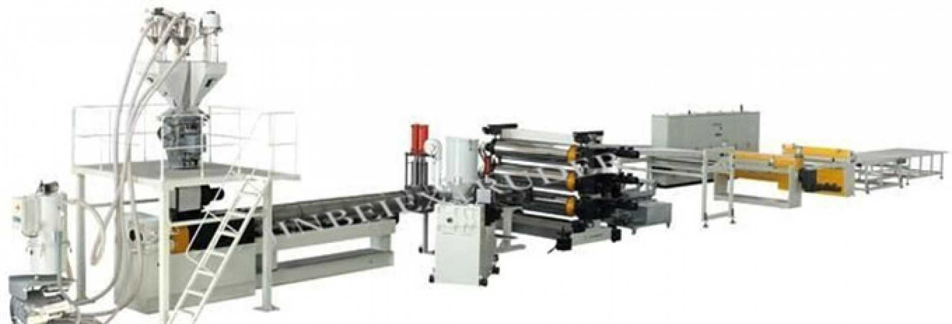 Plastic HIPS Board Production Line
