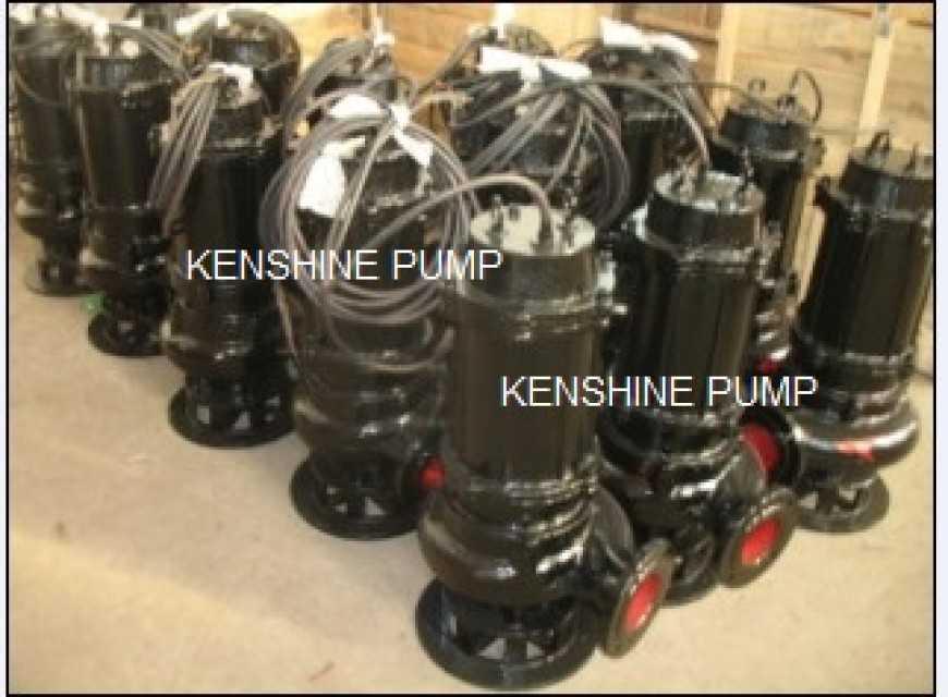 WQ Submersible Sewage pump Information : Manufacturer