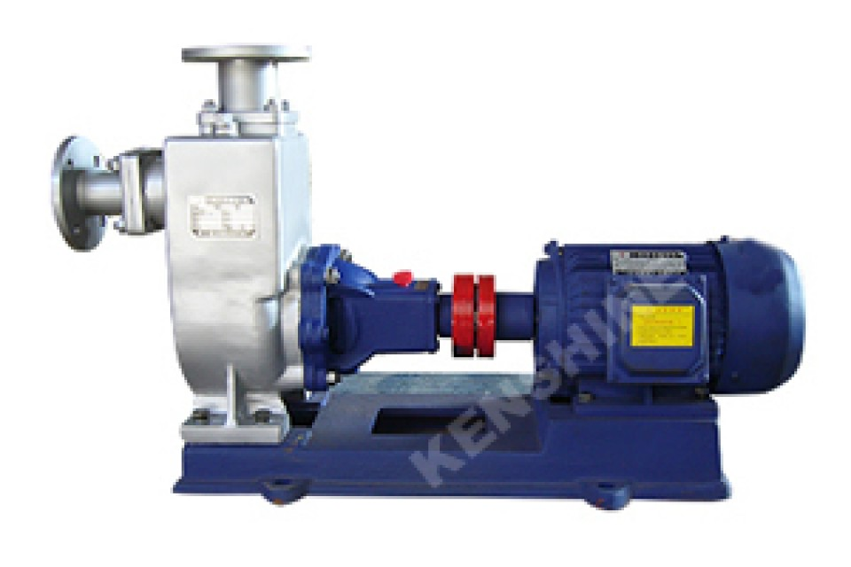 ZW, ZWL self priming sewage pump