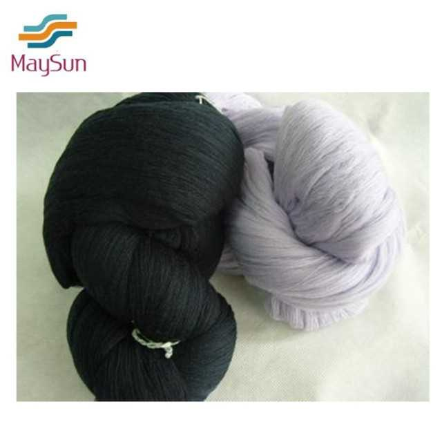 Polyester hank yarn dyed yarn hanks