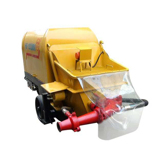 Portable shotcrete truck