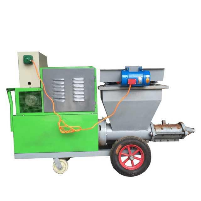 Cement spraying machine