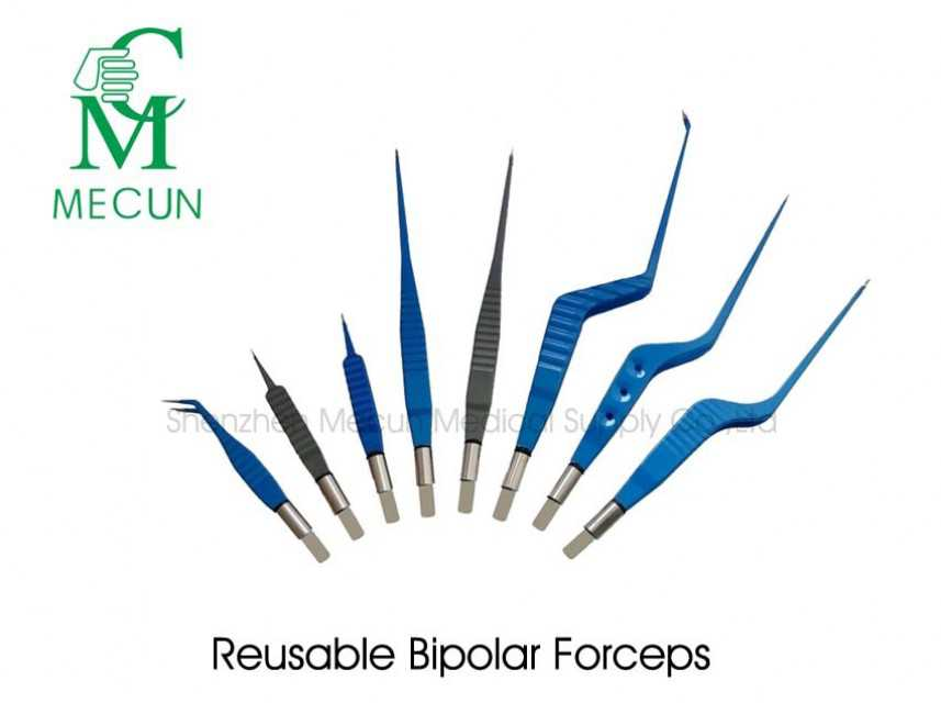 Reusable Bipolar Coagulation Forceps