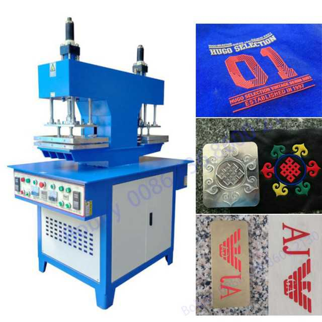 Silicone label embossing label making machine