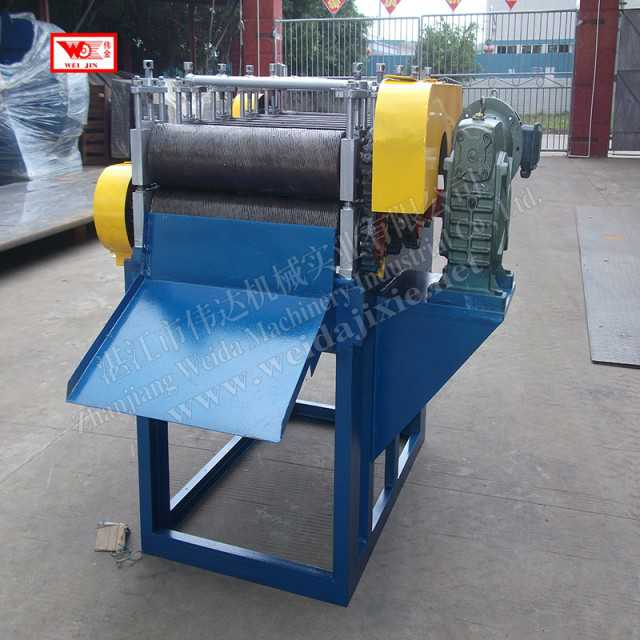 Natural rubber raw material five in one sheeting machine