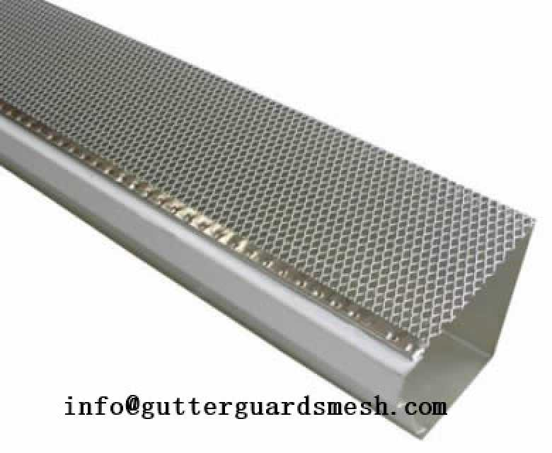 Drop in gutter guard