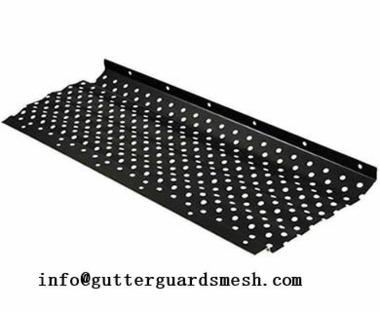Snap in gutter guard