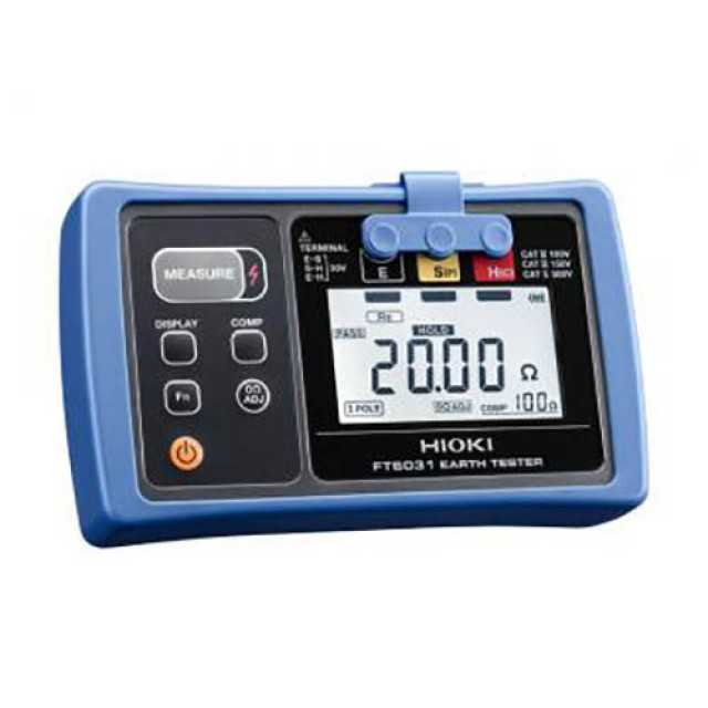 Hioki FT6031-03 Earth Ground Resistance Tester Waterproof