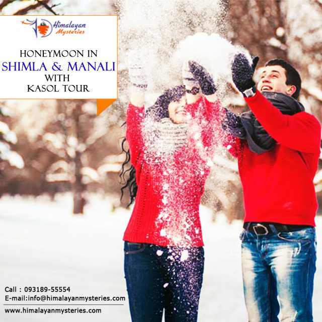 Shimla Honeymoon tour package Himalayan Mysteries