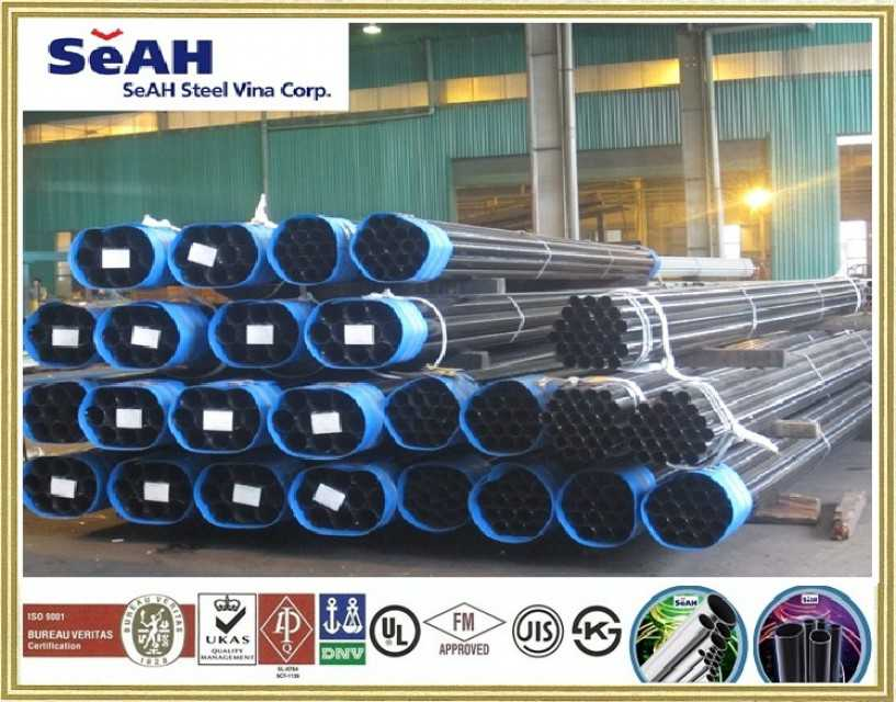BLACK STEEL TUBE - SEAH PIPE
