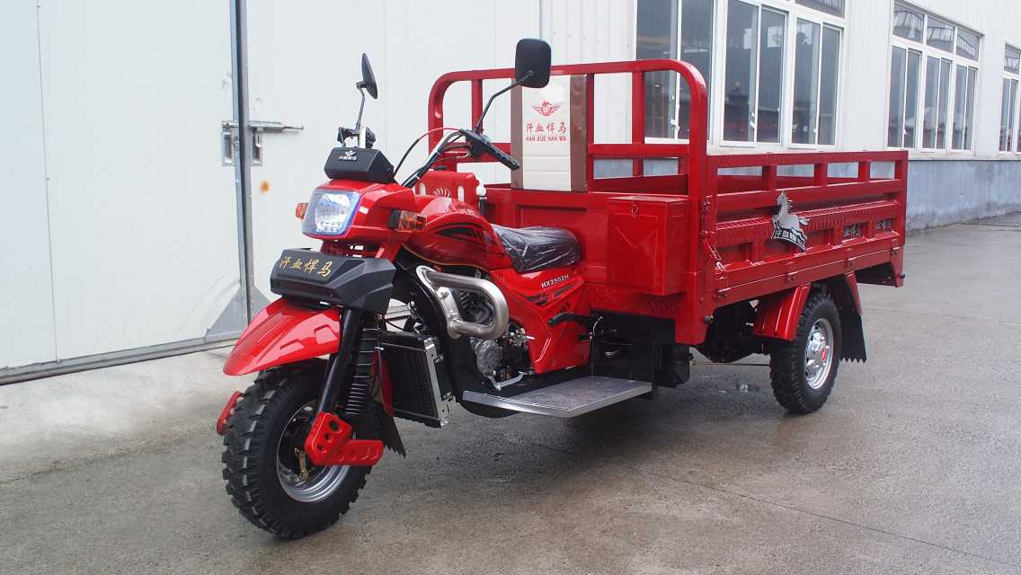 Gasolin cargo tricycle