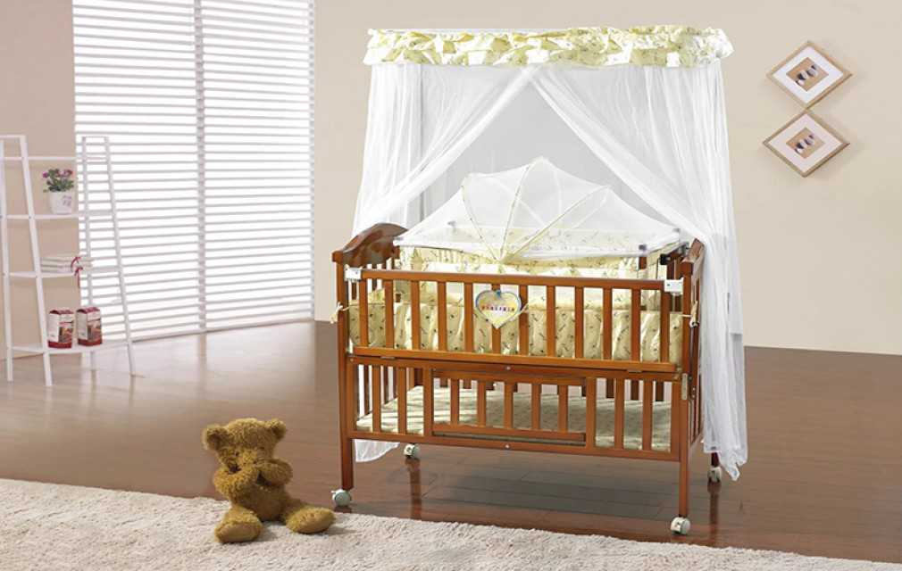 Baby cots, baby cribs, solid wood beds