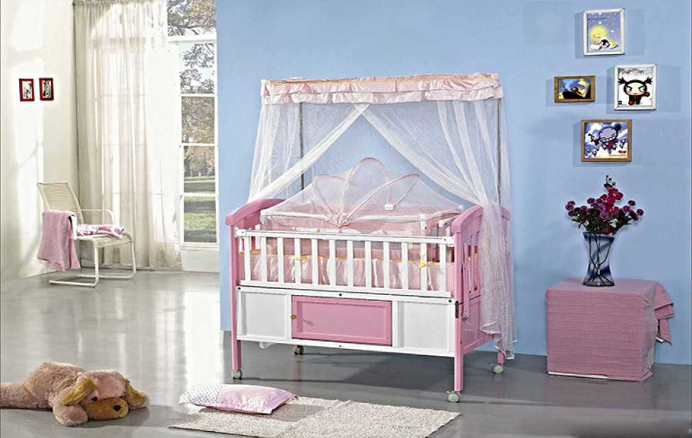 Wooden baby cots, good quality baby beds wooden