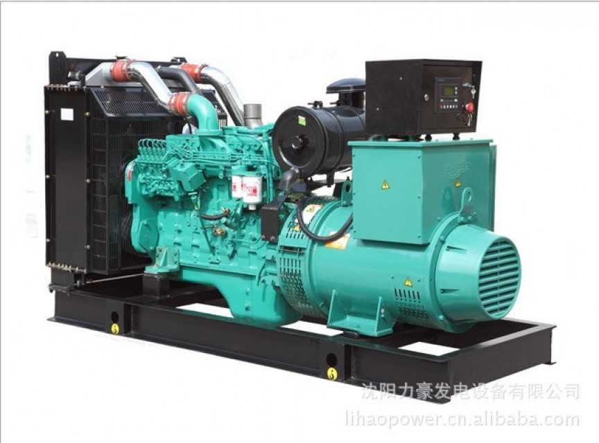 Diesel generator powered